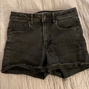 American Eagle Super Stretch High Rise Jean Shorts